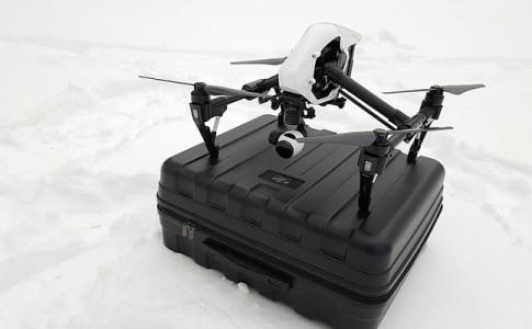 mercado drones vigilancia y seguridad 3.570 millones dólares 2025