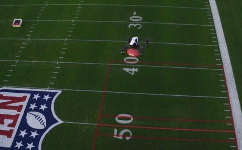 drones en la NFL
