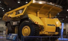 futuro drones minería Komatsu autonomous truck
