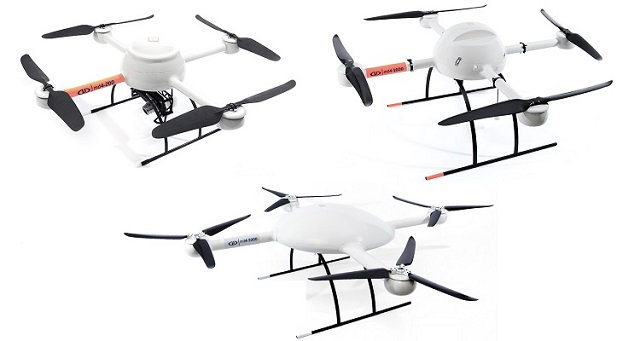 Microdrones md4-200 md4-1000 md4-3000