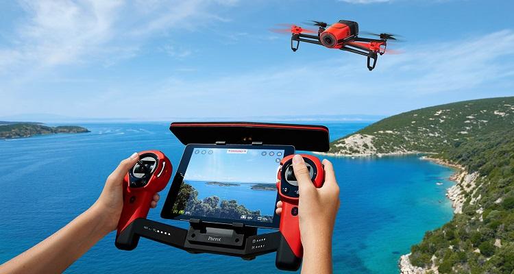 Parrot reestructuración área drones