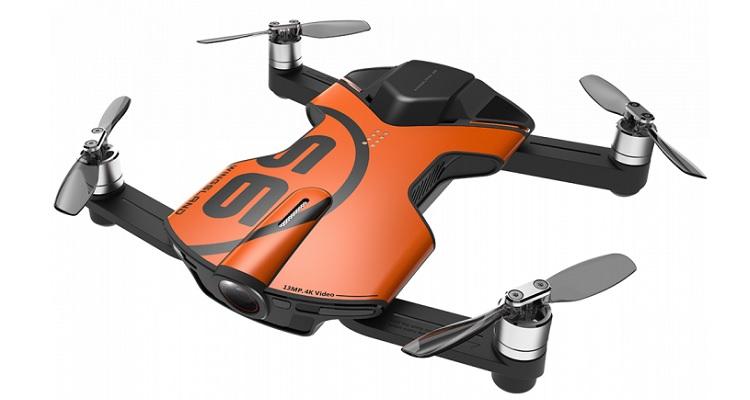 Wingsland S6 drone bolsillo con cámara 4K