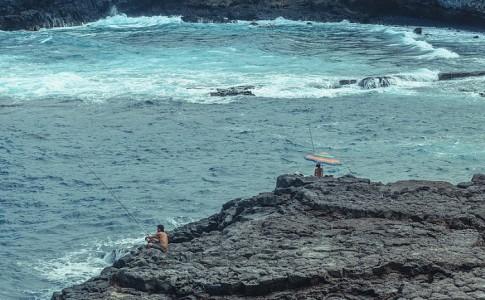 pesca canarias drones