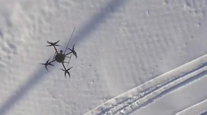 drones contaminacion