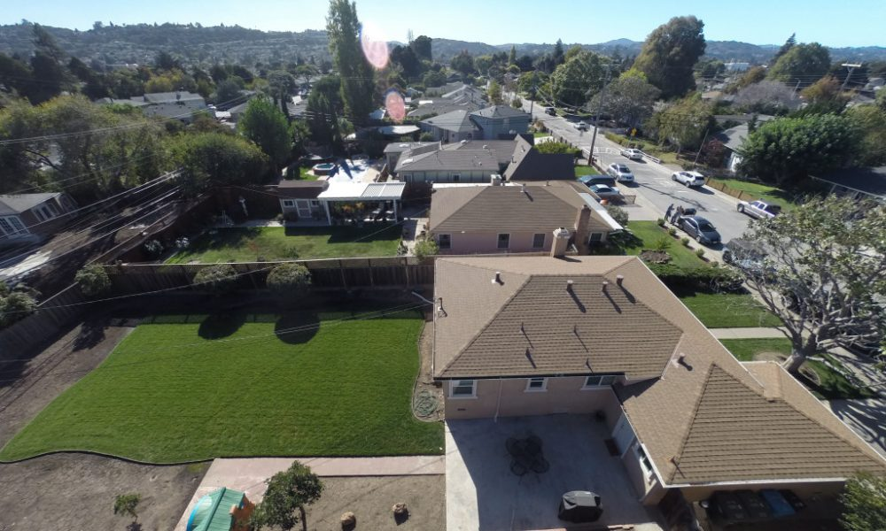 inspeccion de tejados con drones