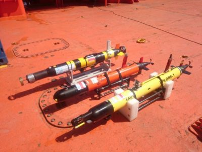 upct Underwater Robotics Ready for Oil Spill