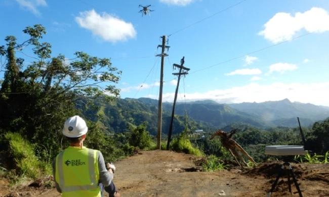 electricidad puerto rico drones