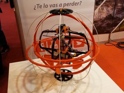 Un prototipo del futuro dron para inspección de infraestructuras de Airk Drones